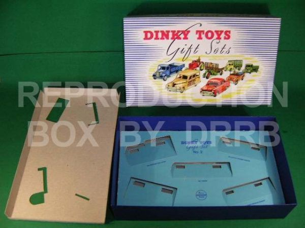 Dinky #499 (Gift Set 2) Commercial Vehicles - Reproduction Box